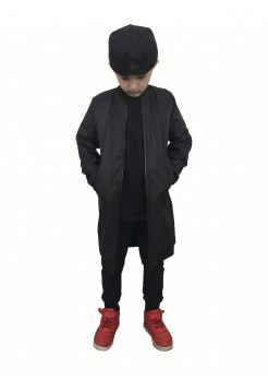 Куртка детская удлиненная