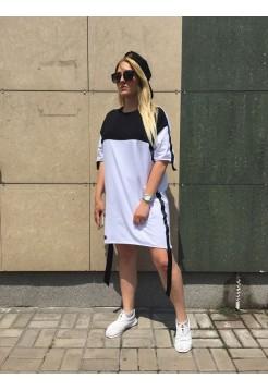 Спортивное платье с коротким рукавом